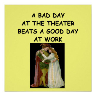 theater arts poster