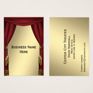Theater Business Card