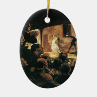 Theater by Honore Daumier Ornament