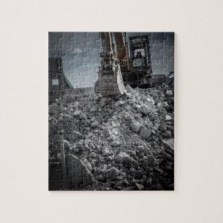 Theater Demolition Rubble Jigsaw Puzzle