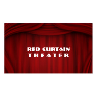 Theater Entertainment Performer Comedian Magician Business Card Templates