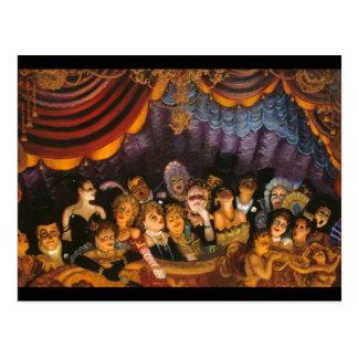 Theater Fun Postcard