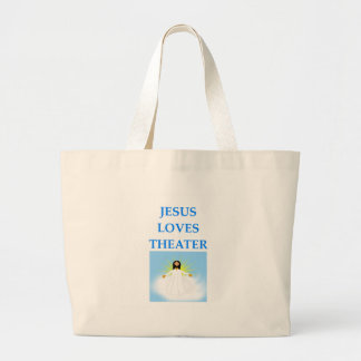 THEATER LARGE TOTE BAG