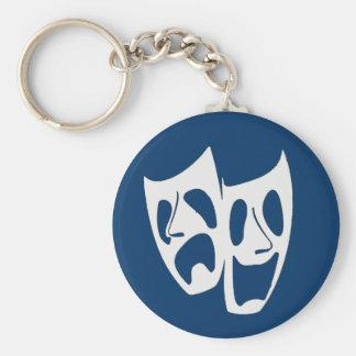 Theater Masks Keychain