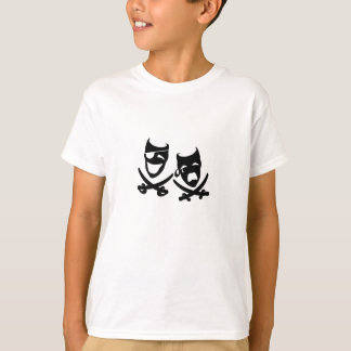 Theater Pirates Kids  T-shirt