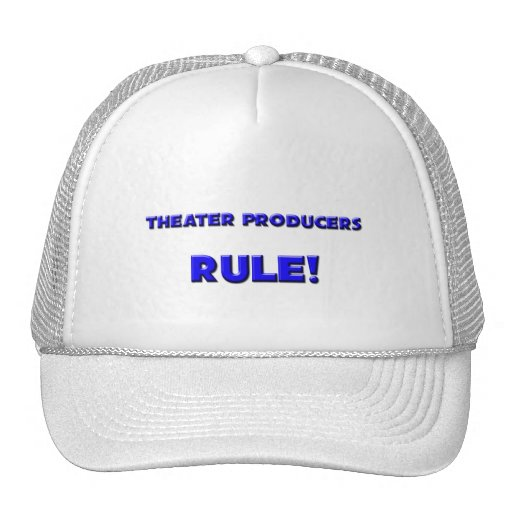 Theater Producers Rule! Hat