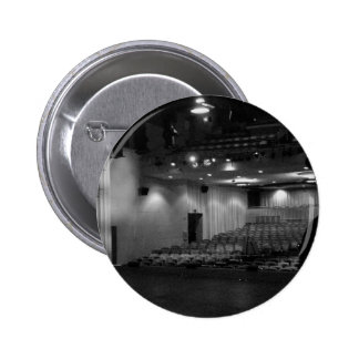 Theater Stage Black White Photo Pin
