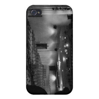Theater Stage Black White Photo iPhone 4/4S Cases