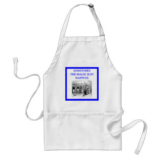 theater standard apron