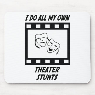 Theater Stunts Mouse Pad