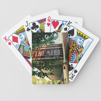 Theatre Bicycle Playing Cards