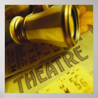 Theatre Binoculars Poster