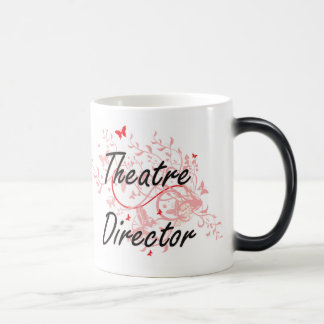 Theatre Director Artistic Job Design with Butterfl Magic Mug