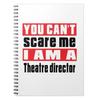 Theatre director scare designs notebook