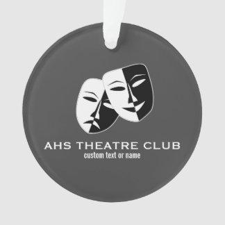 Theatre Drama Club Masks Custom Thespian Name