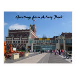 Théâtre du parc NJ Paramount d'Asbury, salutations Cartes Postales