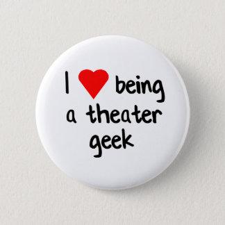 Theatre Geek Love 2 Inch Round Button