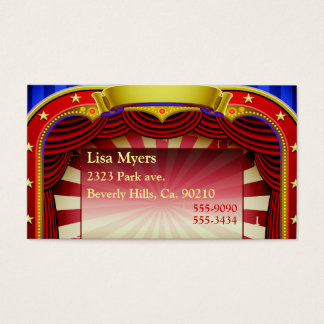 Theatre In Lights Business Card
