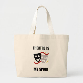 Theatre is My Sport Tote