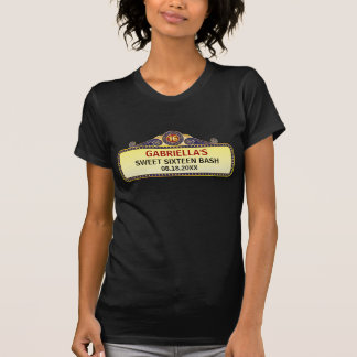 Theatre Marquee Sweet 16 T-Shirt