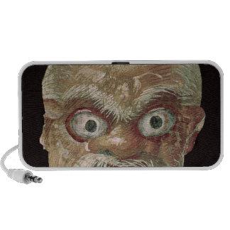 Theatre Mask, East Wall, Oecus 5, 60-50 BC Mp3 Speaker