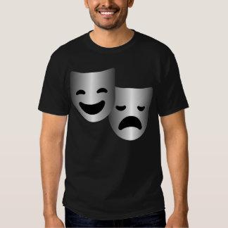 Theatre masks tee shirt