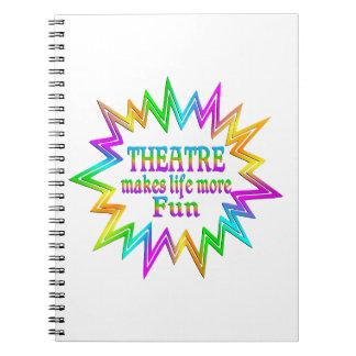 Theatre More Fun Notebook