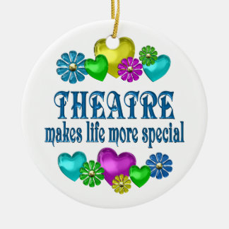 Theatre More Special Ceramic Ornament
