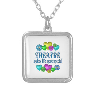 Theatre More Special Silver Plated Necklace