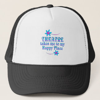 Theatre My Happy Place Trucker Hat