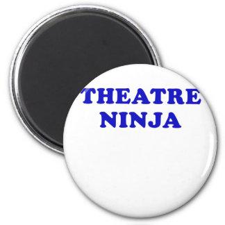 Theatre Ninja 2 Inch Round Magnet