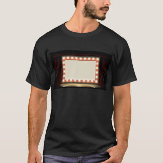 Theatre or Cinema with style light bulb sign T-Shirt