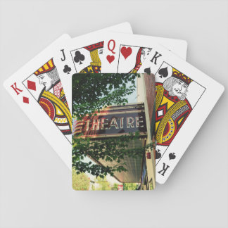 Theatre Playing Cards