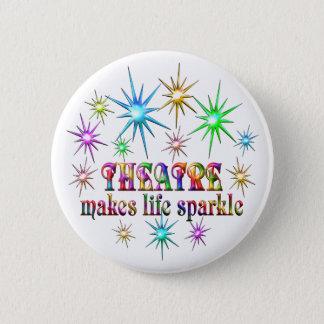 Theatre Sparkles 2 Inch Round Button