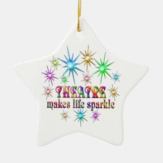 Theatre Sparkles Ceramic Ornament