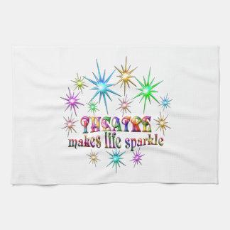 Theatre Sparkles Kitchen Towel