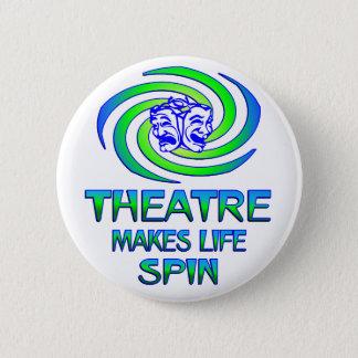 Theatre Spins 2 Inch Round Button