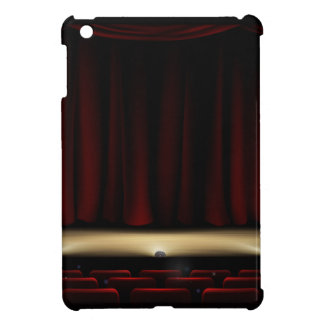 Theatre Stage with Theater Curtains iPad Mini Covers