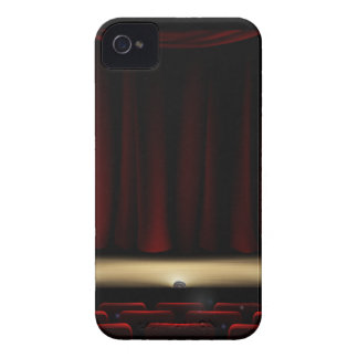 Theatre Stage with Theater Curtains iPhone 4 Case-Mate Case