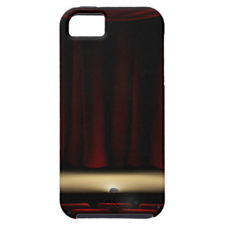 Theatre Stage with Theater Curtains iPhone 5 Case