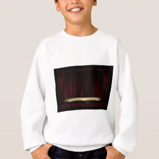 Theatre Stage with Theater Curtains Sweatshirt