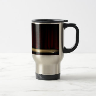 Theatre Stage with Theater Curtains Travel Mug