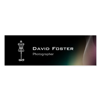 Theatrical Film Costume Designer Dressmaker Business Card Templates
