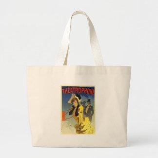 Theatrophone Jumbo Tote Bag