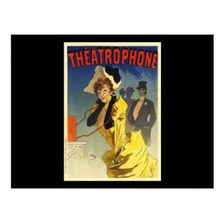 Theatrophone Postcard