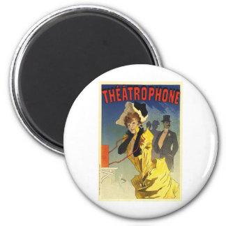 Theatrophone Refrigerator Magnet