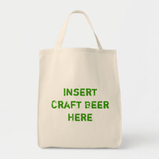 TheBEERSgoneBAD: Craft Beer Grocery Tote