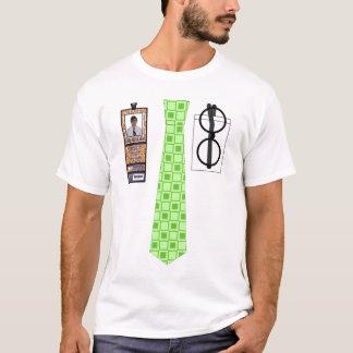 """theCUBICLE"" Squares (2) Tie Shirt"