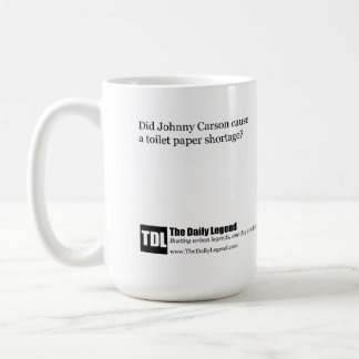"TheDailyLegend ""Carson Toilet Paper Shortage"" Mug"