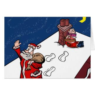 """Theft"" - British Gamer Christmas Card"